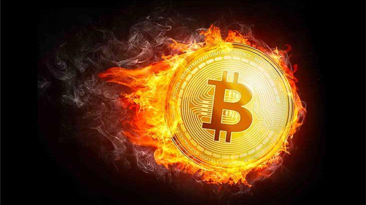 ビットコインが上昇中だけど。。
