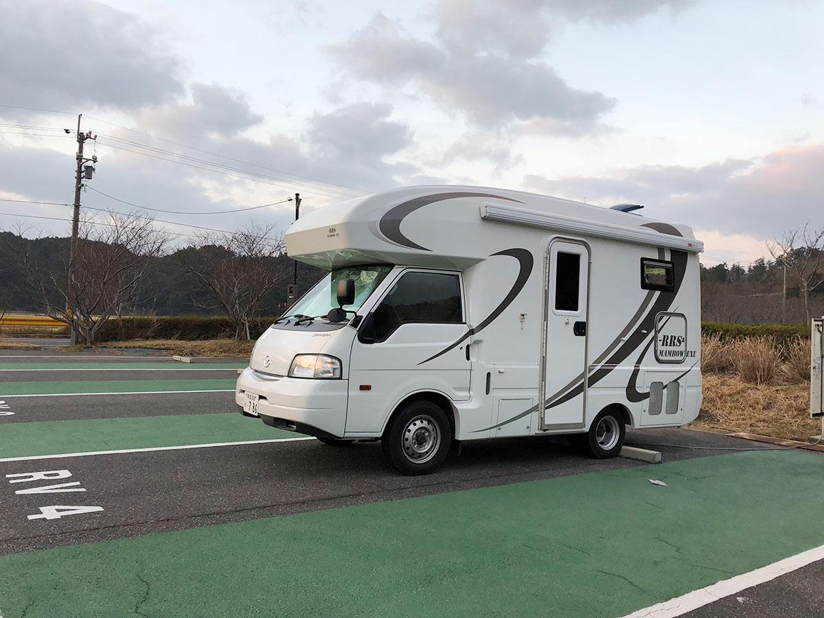 初めてのキャンピングカー旅行記:熊本県から山口県
