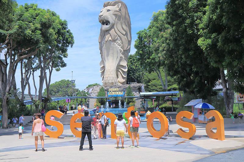 Singapore Travel Sentosa Island Arrival