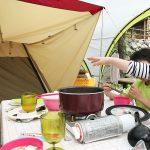 鹿児島県の岩屋公園キャンプ場の常設テントに泊まった